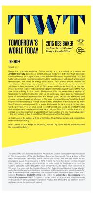 1. Des Baker - Competition Brief