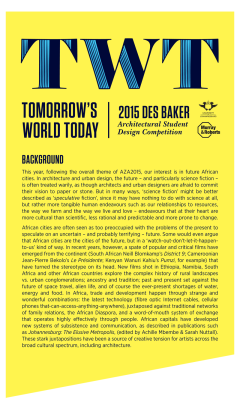 2. Des Baker Competition background
